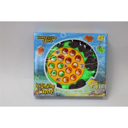 369toy Kids Toy Fishing Game With Music 24 Fishes