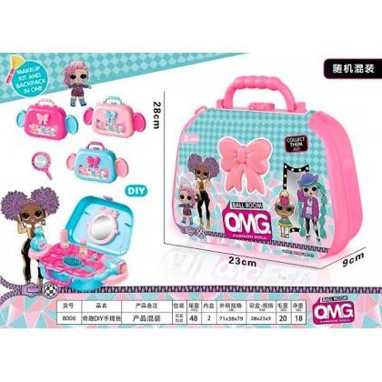 Fun DIY Make Up Suitcase Hello Kitty OMG Princess